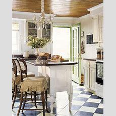 Design Inspiration Freestanding Kitchen Islands  Tidbits