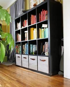 diy ikea expedit wooden storage drawers merrypad With awesome meuble 8 case ikea 5 diy9