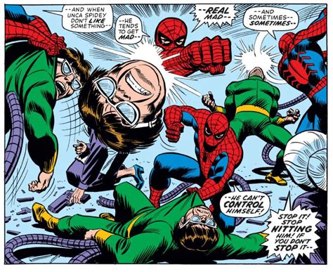 Spider Man Vs Doc Ock In Amazing Spider Man 115 John