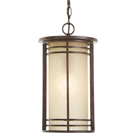 Backyard Lighting Home Depot by Home Decorators Collection 1 Light Bronze Outdoor Pendant