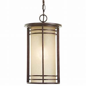 Home decorators collection 1 light bronze outdoor pendant for Home depot outdoor lighting collections