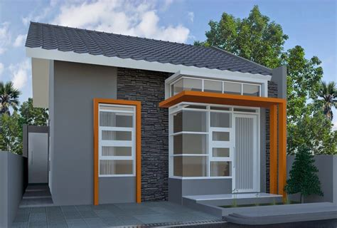 gambar rumah sederhana tapi kelihatan mewah  model