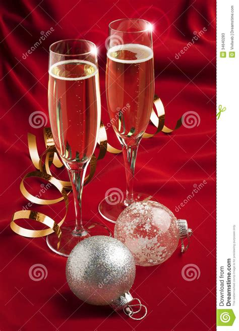 christmas toast stock photos image 34640283
