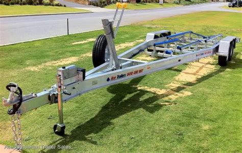 Magnum Boat Trailer Axles by 3 5t Tandem Axle Trailer With Neoprene Skid Set Up For