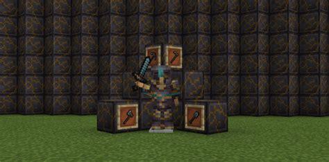 Biroj Netherite Minecraft Pe Texture Packs
