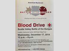 Battle of the Badges Blood Drive Benefiting the American