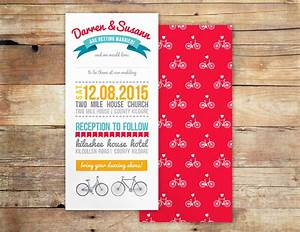 bicycle dreams beautiful bicycle wedding invitation With funny wedding invitations ireland