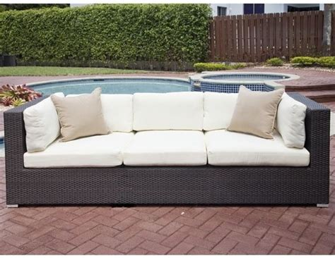 resort collection outdoor sofa contemporary patio