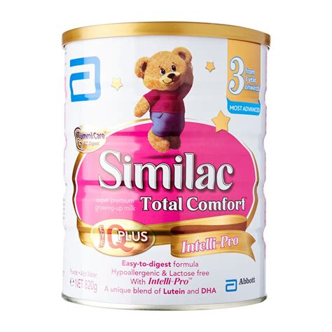 total comfort formula abbott similac total comfort stage 3 formula 820g from