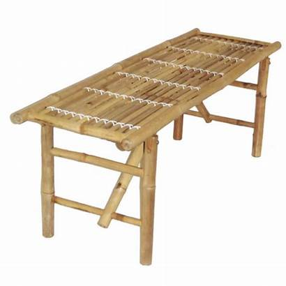 Bamboo Bench Folding Benches