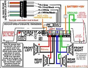 Rockford 5 Channel Amp Wiring Diagram