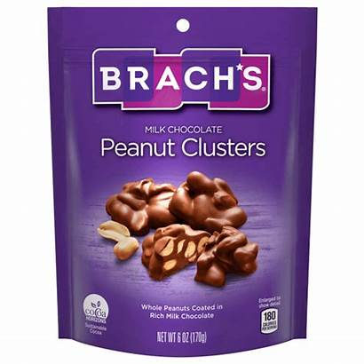 Chocolate Clusters Peanut Milk Covered Candy Peanuts