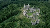 Castle Ruin Steinschloss from the 12th century / Styria ...