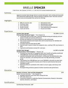 assistant managers resume examples created by pros With assistant manager resume