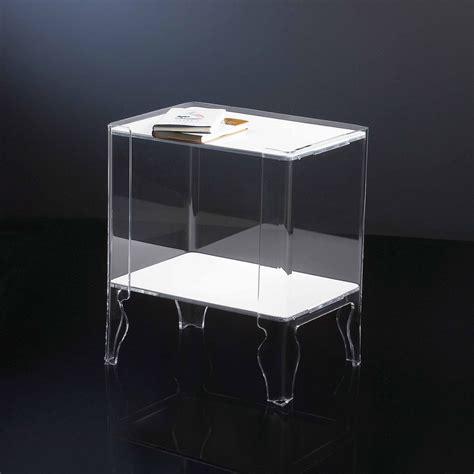 Comodini Design Moderno by Comodino Design Moderno Plexiglass Trasparente Naif 1