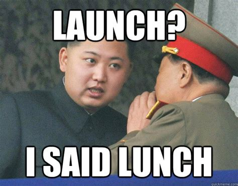 launch hungry kim jong un know your meme