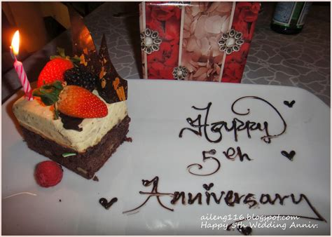 ailengs diary happy  wedding anniversary