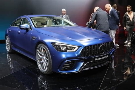 Price details, trims, and specs overview, interior features, exterior design, mpg and mileage capacity, dimensions. 2019 Mercedes-AMG GT 4-Door Coupe Arrives at Last | Automobile Magazine