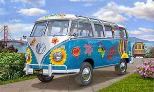Vw Bus T1 Kaufen : vw t1 samba bus flower power revell 07050 ~ Jslefanu.com Haus und Dekorationen