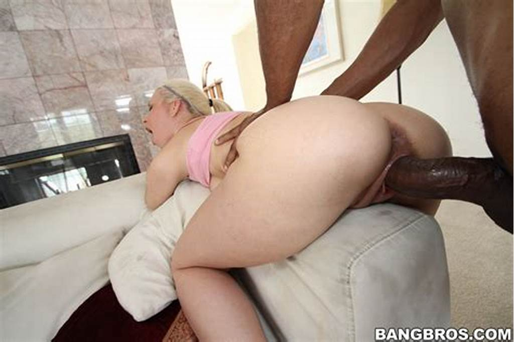 #Anikka #Albrite #Skinny #Blonde #Takes #On #A #Thick #Black #Dick