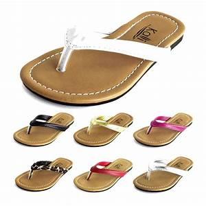 New COCOA Women Shoes Flip Flops Thong Flat Sandals ...
