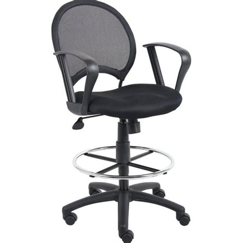 Drafting Chair With Arms by Mesh Drafting Chair With Loop Arms B16217