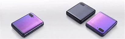 Flip Samsung Galaxy Half Folds Does Smartphone