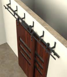 Bypass Cabinet Door Hardware bypass sliding barn wood door hardware interior sliding