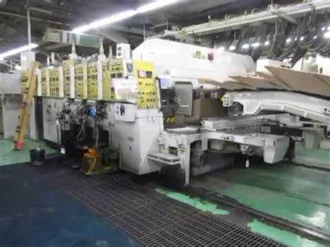 Mitsubishi Lees Summit by Mitsubishi Summit 3fgr 100 Flexo Folder Gluer In Line