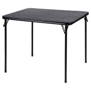 folding table black 34 quot x34 quot target