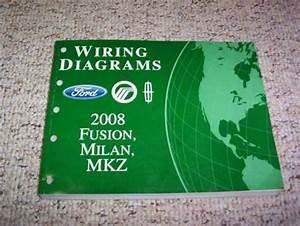 Sell 2008 Mercury Milan Electrical Wiring Diagram Manual