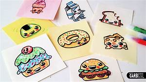 How To Draw Cute Food - Easy and Kawaii Drawings by Garbi ...