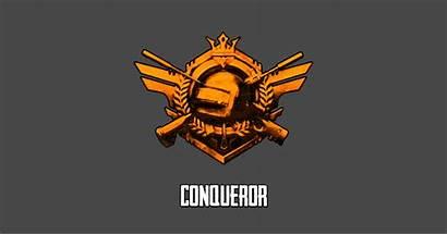 Pubg Conqueror Sticker Teepublic