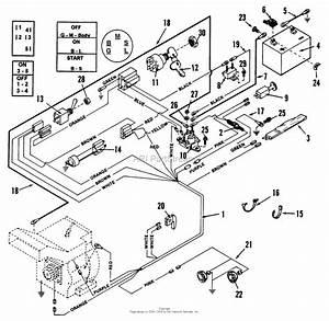 Snapper Lt11000 11 Hp Disc Drive Tractor Series 0 Parts