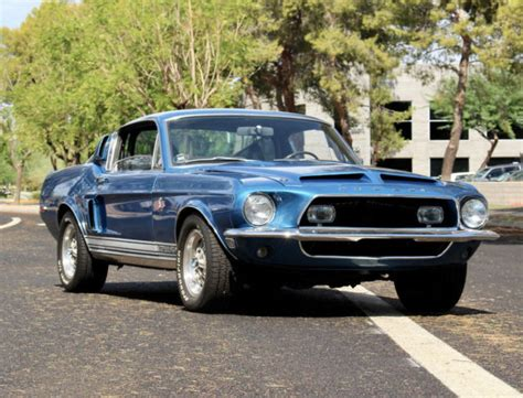 Shelby Gt500kr For Sale by 1968 Shelby Gt500kr 4 Speed Acapulco Blue Classic Shelby