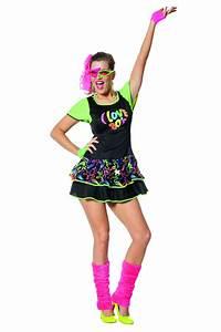 Robe Année 80 : tenue fluo ~ Dallasstarsshop.com Idées de Décoration