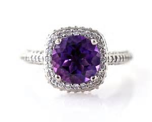 amethyst engagement rings unavailable listing on etsy