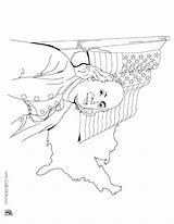 Coloring Symbols American Native Pages Florida State Franklin Benjamin Flag Getcolorings Getdrawings Ben Printable Colorings sketch template