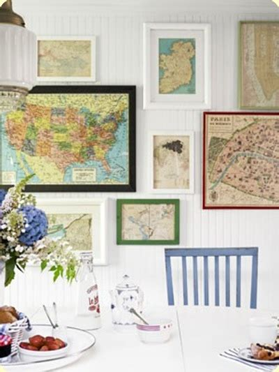 Decorating With Maps Twig Home