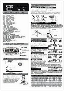Atech Bicycle Computer F13 Instructions
