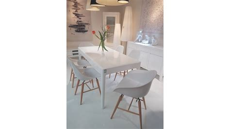 chaise blanche pied en bois chaise blanche pied en bois chaise de salle manger
