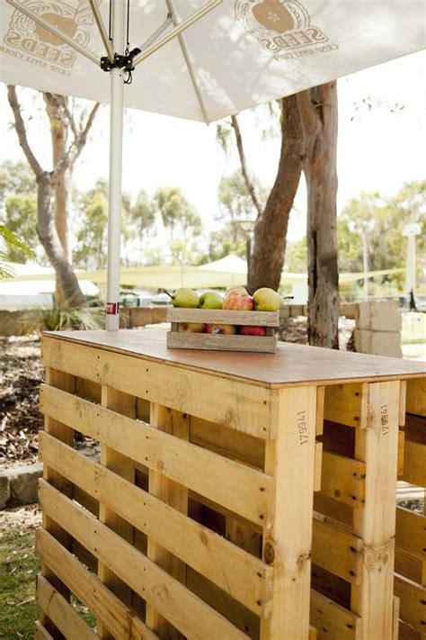 meuble central cuisine salon de jardin palette bois fabrication avantages