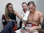 Micky Ward with Charlene Fleming and Dickie Eklund