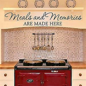 best 25 kitchen decals ideas on pinterest quotes for With kitchen cabinets lowes with wall art decals quotes