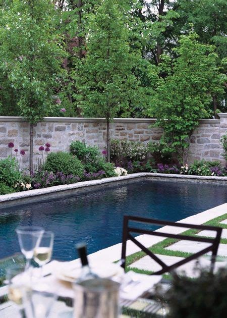 room    house landscaping pool privacy