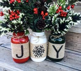 christmas holiday burlap mason jars set of 3 burlap mason jars quart size mason jars and