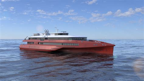 New Austal Trimaran Provides Vision Of The Future For ...