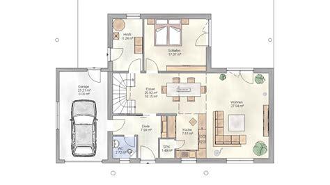 grundriss einfamilienhaus mit garage