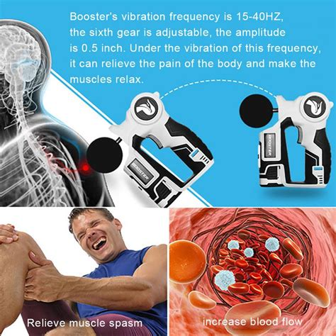 Percussion Massager Cordless Muscle Deep Relaxation Device