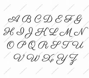 1960s calligraphy personalized custom stencils stencil for Custom letter printing